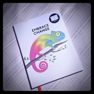 NEW Lined Journal - Embrace Change - Chameleon